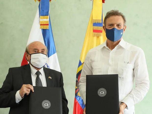 República Dominicana y Ecuador impulsarán Intercambio Comercial Bilateral