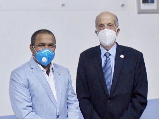 Consejo Nacional para el Cambio Climático se reúne con Senador Héctor Acosta