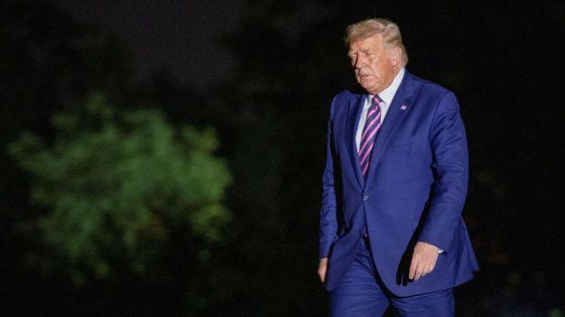 Donald Trump se despide de la Casa Blanca.