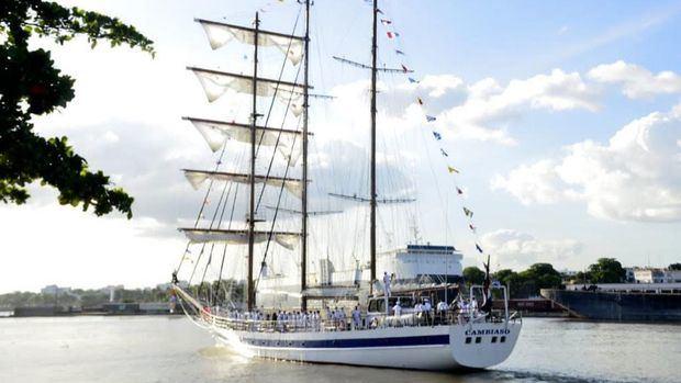 """Armada de RD realizó el acto de despedida del crucero de instrucción para guardiamarinas de la academia naval """"Otoño 2020"""""""