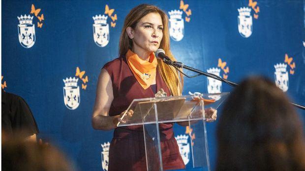 La alcaldesa del Distrito Nacional Carolina Mejía.