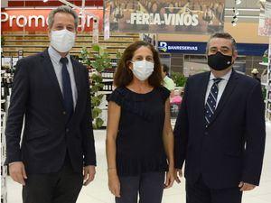 Olivier Pellin, Karine Noetinger y Gerardo García.