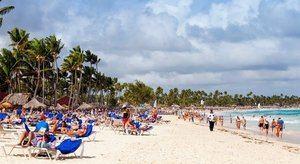 Turistas en Punta Cana.