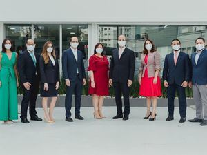 Comité ejecutivo sucursal El Vergel.