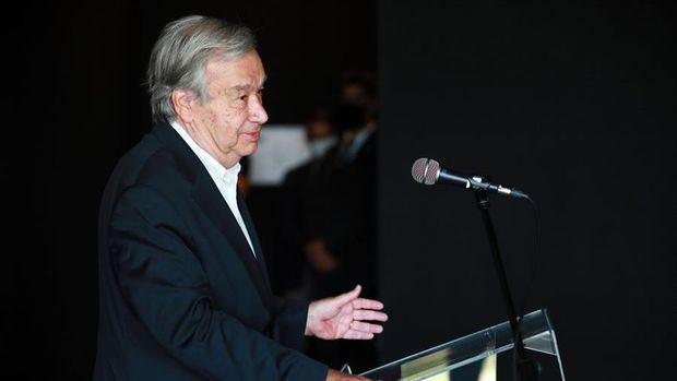 Secretario general de Naciones Unidas, António Guterres.