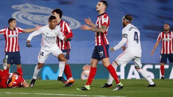 Real Madrid se quedó con el derbi madrileño en La Liga