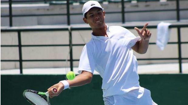 El tenista dominicano Nick Hardt.