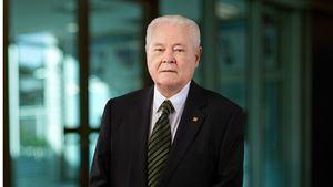 Don Alejandro Grullón .fundador y primer presidente del Banco Popular Dominicano y del Grupo Popular.