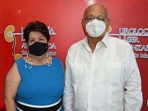 Elba Suárez de Vargas y Carlos Vargas.