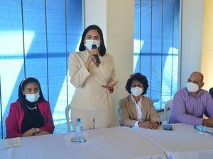 Viceministra de Sectores Vulnerables y Trabajo Infantil, Mayrenis Corniel.