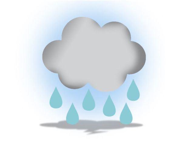Lluvias dispersas en horas de la tarde