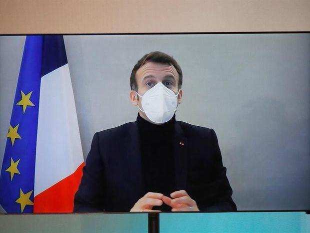 Macron pone rumbo a su reelección 2022