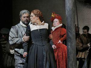Opera María Stuarda de Donizetti.