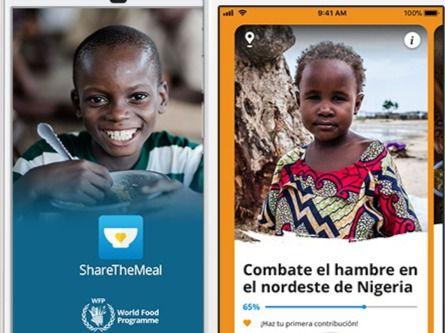 La primera app del mundo para luchar contra el hambre a nivel global