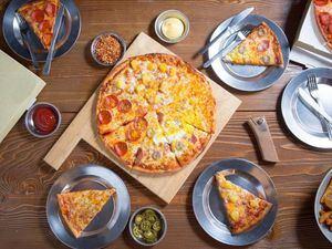 Entre las comidas más populares que ordenaron los dominicanos está la pizza.