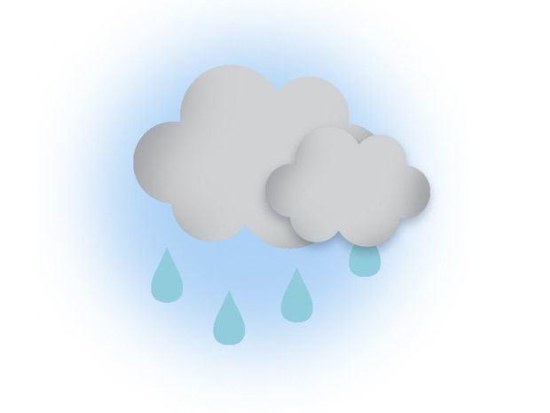 Algunas lluvias débiles en la tarde. Temperaturas agradables
