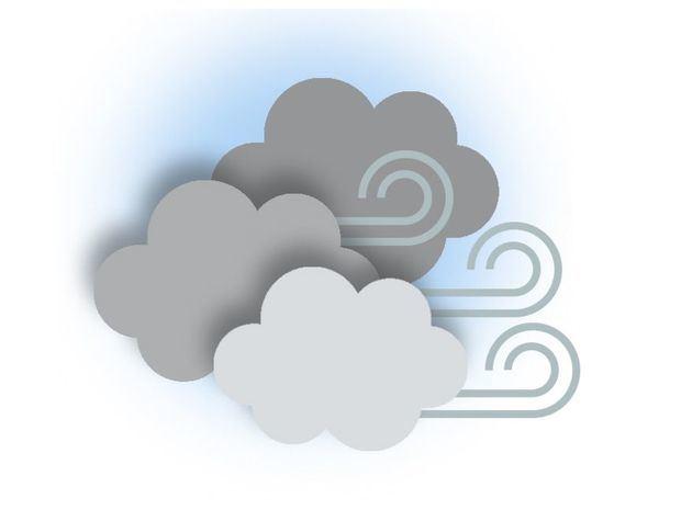 Nubosidad aislada y escasas precipitaciones sobre gran parte del país