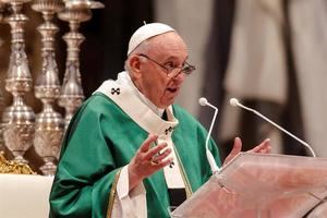 El papa Francisco, en una fotografía de archivo.