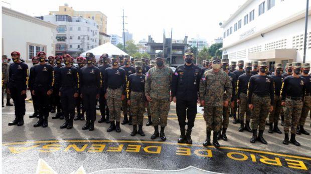 En XXXV promoción MIDE gradúa 75 miembros ERD, ARD y FARD en curso de operaciones contraterrorismo