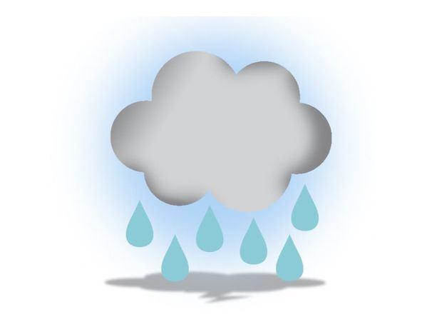 Lluvias dispersas y aisladas tronadas en algunas zonas del país debido a un sistema frontal