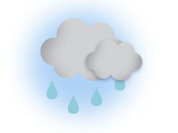 Nubes dispersas y escasas lluvias en el país