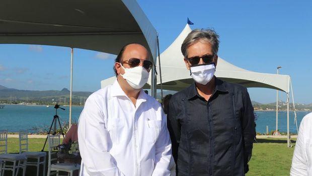 Director del IDAC y embajador de Alemania honran víctimas vuelo caído hace 25 años en Puerto Plata