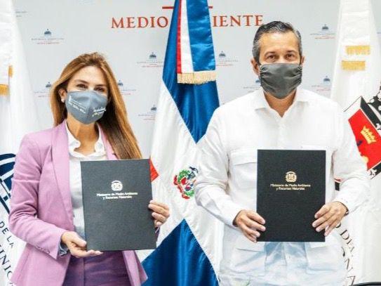 Medio Ambiente y Alcaldía del Distrito Nacional acuerdan plan conjunto para garantizar calidad ambiental de la capital