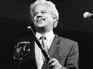 Johnny Pacheco, gran ideólogo del género salsa.