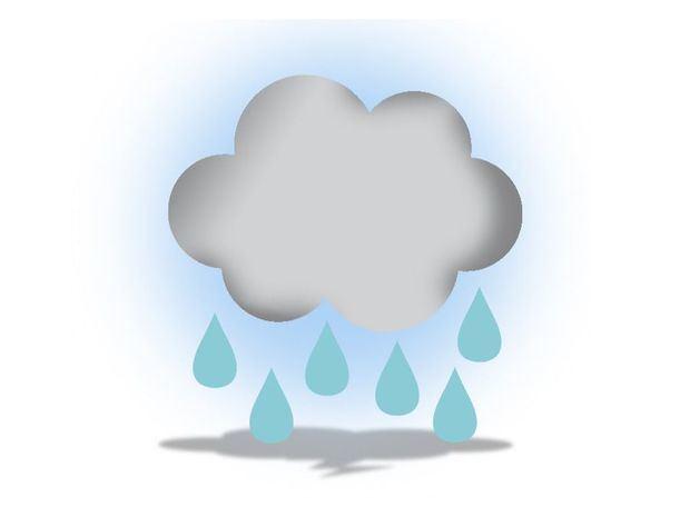 Nublado con algunas lluvias matutinas