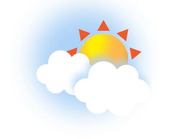 Cielo despejado a nubes aisladas y escasas lluvias por sistema anticiclónico