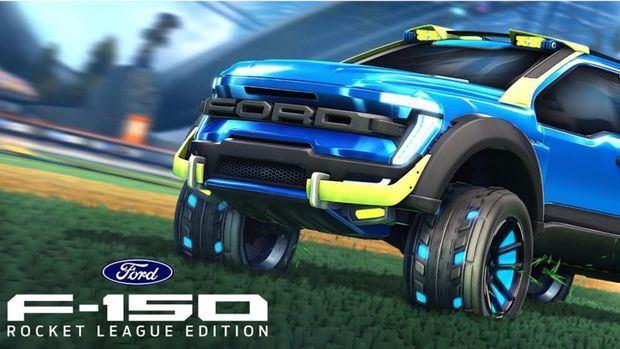 Ford y Psyonix trabajaron juntos para crear una F-150 personalizada para Rocket League; la camioneta será protagonista en la popular plataforma multijugador donde los vehículos compiten en partidos de soccer.