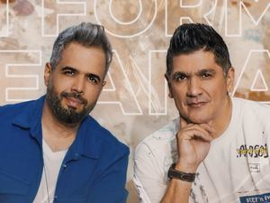 Daniel Santacruz y Eddy Herrera.