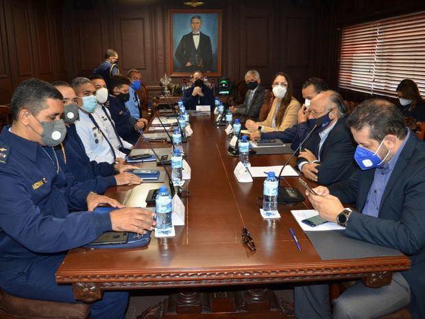 Delegación del IDAC se reúne con autoridades de la FARD, del CESAC y Turismo