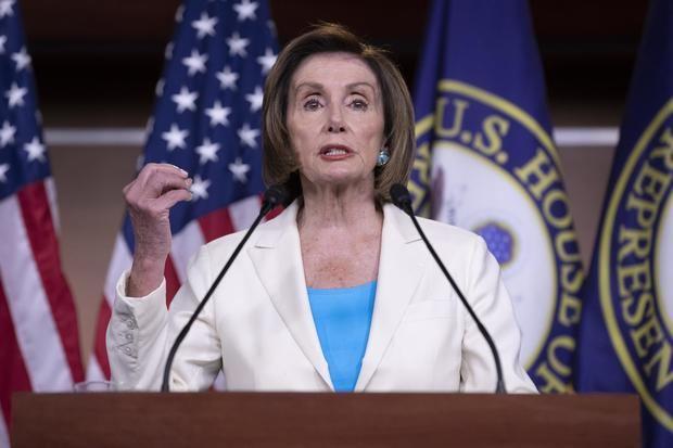 La presidenta de la Cámara de Representantes de EE.UU., la demócrata Nancy Pelosi, en una fotografía de archivo.