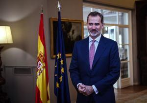 El rey Felipe VI de España.