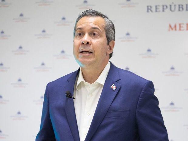 Ministro del Medio Ambiente, Orlando Jorge Mera.