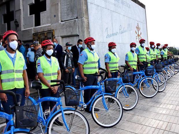 Ministerios de Cultura y de Interior y Policía instalan Policía Auxiliar en Faro a Colón