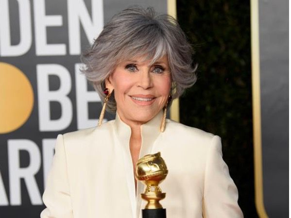Jane Fonda reivindica en los Globos de Oro el poder