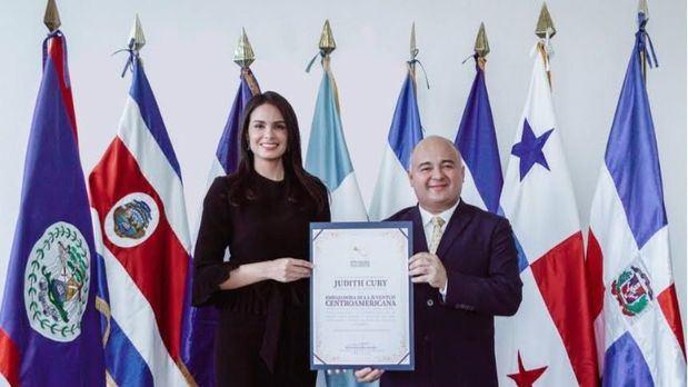 Judith Cury fue designada Embajadora de la Juventud Centroamericana