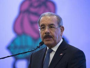 En la imagen, el expresidente dominicano, Danilo Medina.