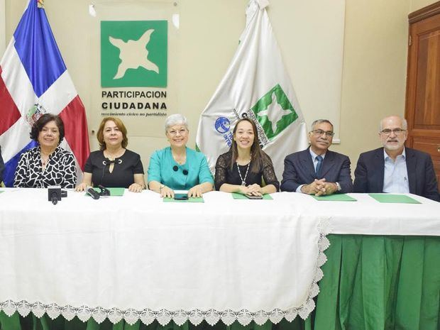 Participación Ciudadana asegura partidos políticos se resisten a conceder el espacio que merece la mujer