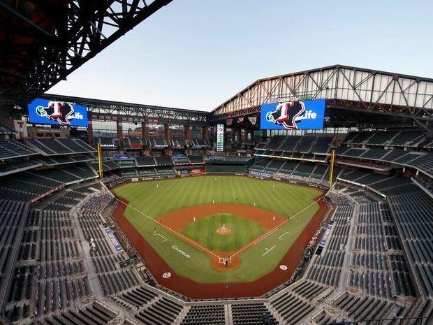Rangers de Texas serían primer equipo de MLB con estadio lleno.