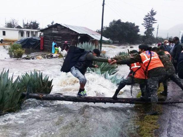 Más de 600 personas evacuadas y 132 casas afectadas a causa de las lluvias.