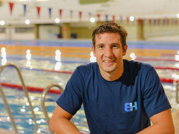 El paraguayo Benjamín Hockin aspira a medallas en el Campeonato Sudamericano de Natación