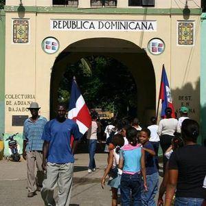 Frontera dominico haitiana.