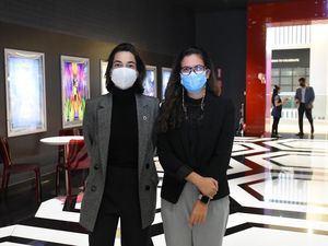 María Batlle y Ivanna Molina Peña.
