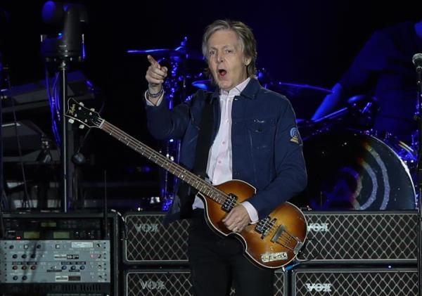 En la imagen, el artista británico Paul McCartney.