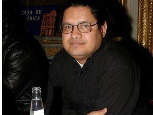 El escritor venezolano Juan Carlos Chirinos.