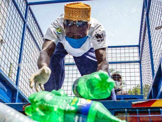 Kenia ha limitado el uso de plásticos de un solo uso.