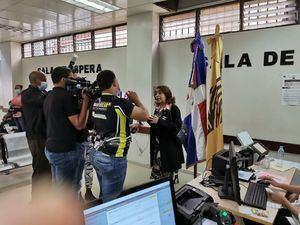 JCE supervisa proceso de validación de actas en oficialías de San Francisco de Macorís